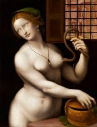 Le suicide de Cléopâtre mordue par un aspic (Giampietrino) - Muzeo.com