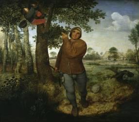 Le voleur de nid (Brueghel Pieter le Vieux) - Muzeo.com