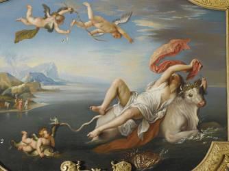 L'Enlèvement d'Europe (par Jupiter métamorphosé en taureau) (Anonyme,D'après Titien (dit),...) - Muzeo.com