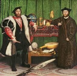 Les Ambassadeurs (Hans Holbein le Jeune) - Muzeo.com