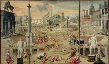 Les massacres du Triumvirat (Caron Antoine) - Muzeo.com