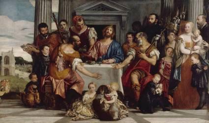 Les Pèlerins d'Emmaüs (Véronèse Paul) - Muzeo.com