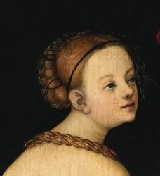 Les trois Grâces (Cranach Lucas, l'Ancien) - Muzeo.com