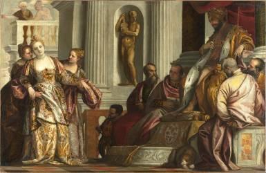 L'Evanouissement d'Esther (Véronèse Paul) - Muzeo.com