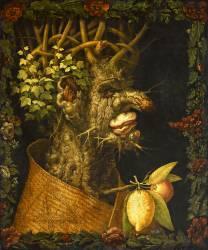 L'Hiver (Giuseppe Arcimboldo) - Muzeo.com