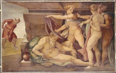 L'ivresse de Noé (Baudry Paul Jacques Aimé...) - Muzeo.com