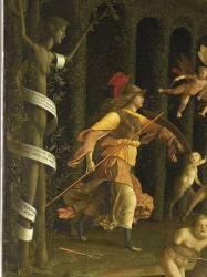 Minerve chassant les Vices du Jardin de la Vertu (Mantegna Andrea) - Muzeo.com