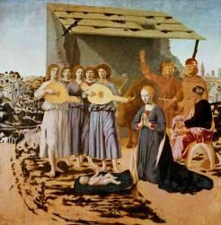 Nativité (Piero della Francesca) - Muzeo.com