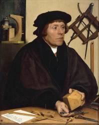 Nicolas Kratzer (1487-1550), astronome (Holbein Hans, le Jeune) - Muzeo.com