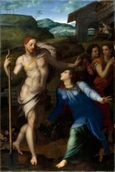 Noli me tangere, le Christ apparaissant à la Madeleine (Bronzino) - Muzeo.com