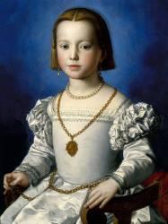 Portrait de Bia de Médicis (1537-1542) (Bronzino) - Muzeo.com