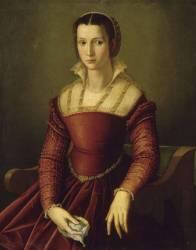 Portrait de femme (Bronzino (dit), Allori Agnolo...) - Muzeo.com