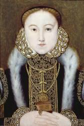 Portrait de la reine Elizabeth I (anonyme) - Muzeo.com