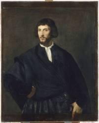 Portrait d'homme (Titien) - Muzeo.com