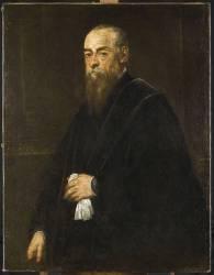 Portrait d'homme (Le Tintoret (dit), Robusti...) - Muzeo.com