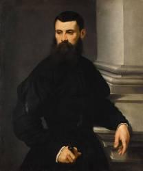Portrait d'homme (Le Tintoret) - Muzeo.com