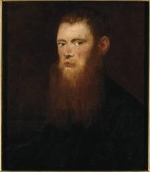 Portrait d'homme, dit de Soranzo (Le Tintoret (dit), Robusti...) - Muzeo.com