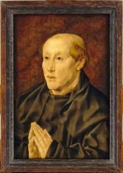 Portrait d'un bénédictin (Gossaert Jan, Mabuse (dit)) - Muzeo.com