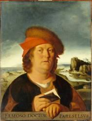 Portrait présumé du médecin Paracelse (1493-1541) (Metsys Quentin) - Muzeo.com