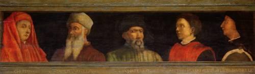 Portraits de Uccello, Donatello, Manetti, et de Brunelleschi (Uccello Paolo) - Muzeo.com
