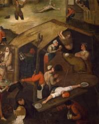 Proverbes néerlandais (Brueghel Pieter le Vieux) - Muzeo.com