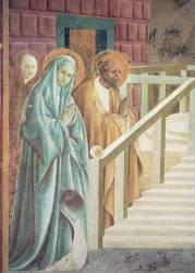 Saint Anne et Joachim lors de la présentation au Temple de la Vierge Marie (Paolo Uccello) - Muzeo.com