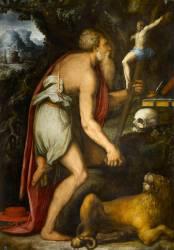 Saint Jérôme (Vasari Giorgio) - Muzeo.com