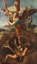 Saint Michel terrassant le démon dit Le Grand Saint Michel (Raphaël) - Muzeo.com
