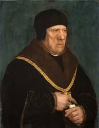Sir Henry Wyatt, conseiller du roi d'Angleterre (mort en 1537) (Holbein Hans, le Jeune) - Muzeo.com