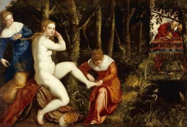 Suzanne au bain (Le Tintoret) - Muzeo.com