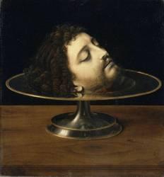 Tête de saint Jean-Baptiste (Solario Andrea) - Muzeo.com