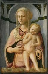 Vierge à l'Enfant (Filippo Lippi) - Muzeo.com