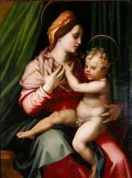 Vierge à l'Enfant (Andrea del Sarto ) - Muzeo.com