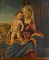Vierge et Enfant (Cima da Conegliano Giovanni...) - Muzeo.com