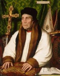 William Warham (1457-1532), archevêque de Canterbury en 1504 (Holbein Hans, le Jeune) - Muzeo.com
