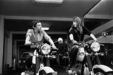 1970. Serge Gainsbourg and Jane Birkin (Giancarlo Botti) - Muzeo.com