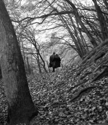 Amoureux en vallée de chevreuse - Baux de Cernay - 1978 (Gérald Bloncourt) - Muzeo.com