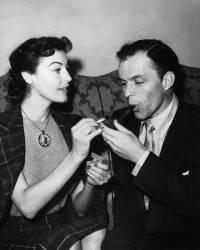 Ava Gardner et Franck Sinatra (Keystone) - Muzeo.com