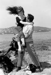 Brigitte Bardot et Carl Mohner au Festival de Cannes (anonyme) - Muzeo.com