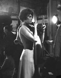 Brigitte Bardot sur le tournage de