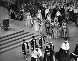 Couronnement de la Reine Elizabeth II (anonyme) - Muzeo.com
