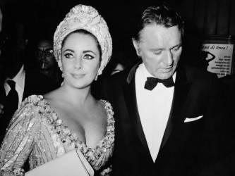 Elizabeth Taylor et Richard Burton à Rome (Keystone) - Muzeo.com