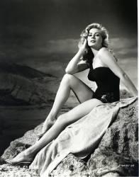 L'actrice suedoise Anita Ekberg (née en 1931) en 1953. (Anonyme) - Muzeo.com