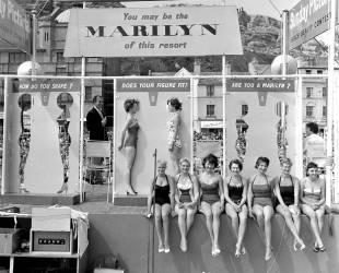 Concours de ressemblance de Marilyn Monroe à Hastings (Anonyme) - Muzeo.com
