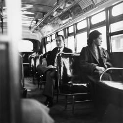 Rosa Parks dans le bus (anonyme) - Muzeo.com