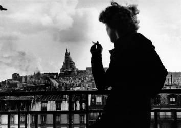 SUR LES TOITS DE PARIS, ANNEES 1960-1970 (Keystone) - Muzeo.com
