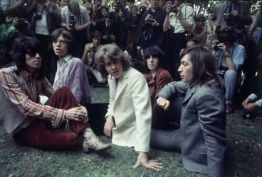 Les rolling Stones présentant Mick Taylor à la presse, 1969 (anonyme) - Muzeo.com