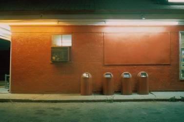 Bins outside Building (Patty Carroll) - Muzeo.com