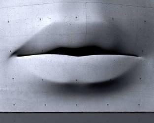 Bouche en béton (Matthias Kulka) - Muzeo.com