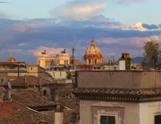 Coucher de soleil romain (Pat Swain) - Muzeo.com